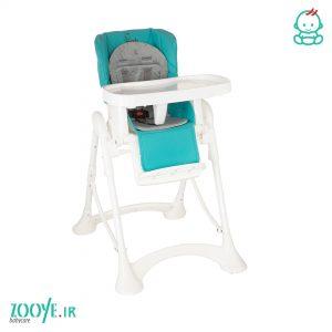 صندلی غذا کودک فیروزه ای Z110 زوییه zooye