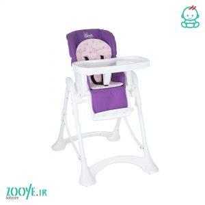 صندلی غذا کودک بنفش Z110 زویی