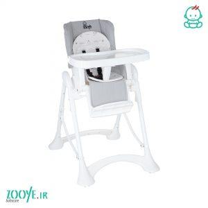 صندلی غذا کودک طوسی روشن Z110 زویی