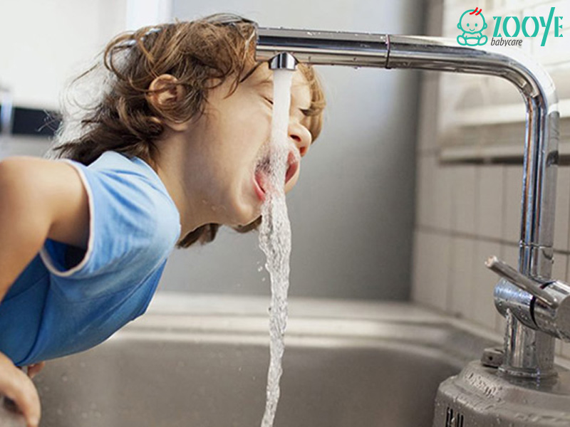 کم آبی در کودکان