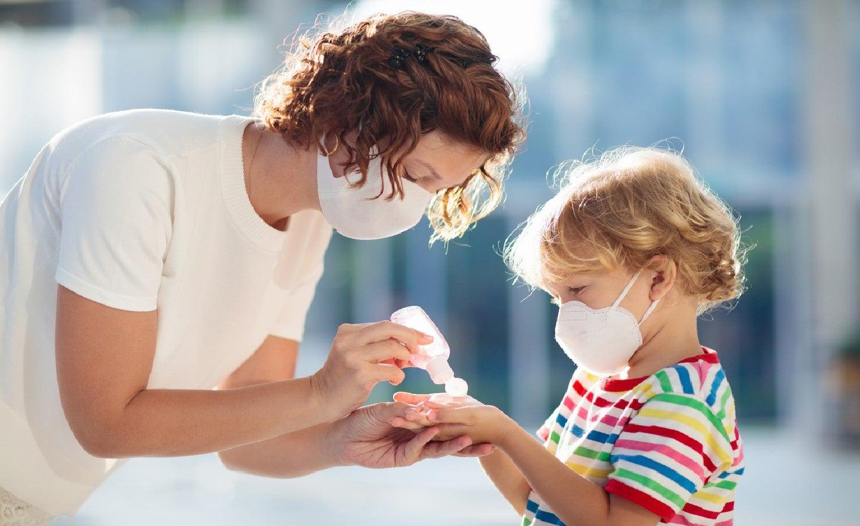 نکات مراقبتی برای کودکان با ویروس کرونا