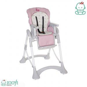 صندلی غذا کودک صورتی Z110 زویی ، اولین نگرانی اغلب والدین درتهیه سیسمونی انتخاب صندلی غذایی می باشد که امنیت و راحتی کودک را تضمین کند.