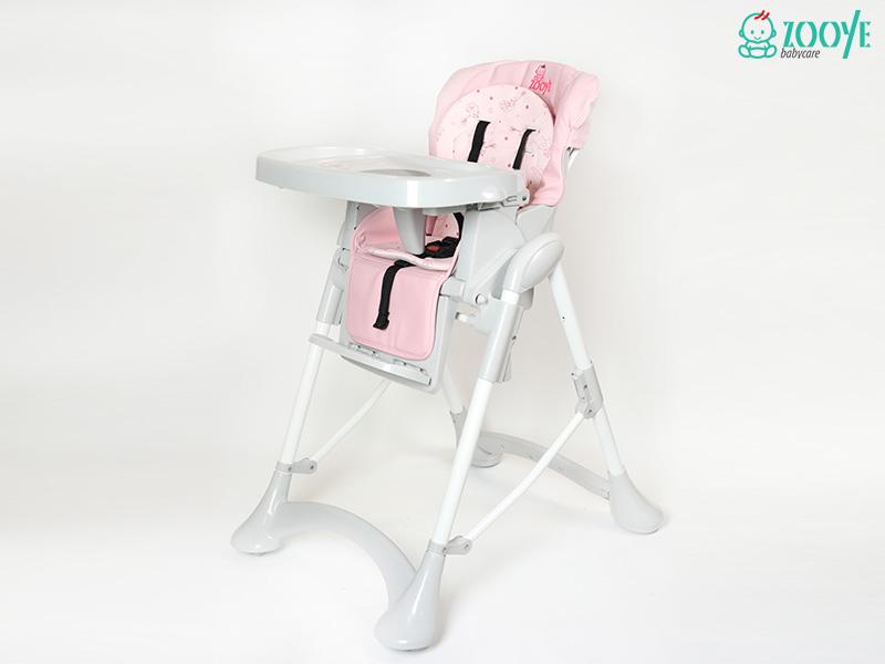 صندلی غذا کودک زویی صورتی Z110