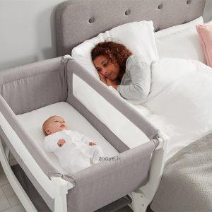 اهمیت استفاده از تخت کنار مادر